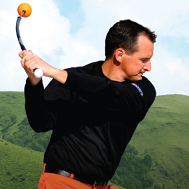 Orange Whip Golf Training Aid